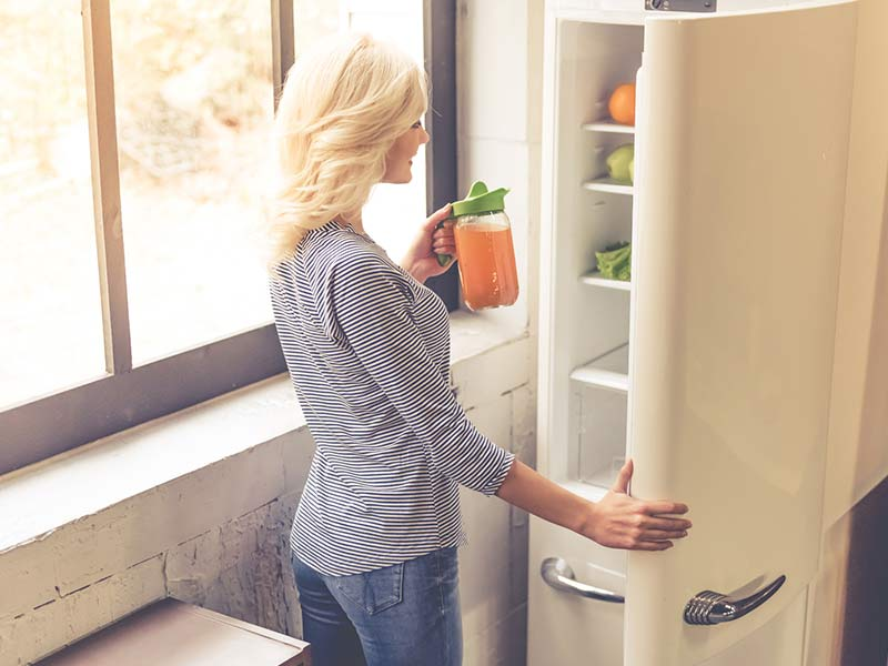 cuidado del frigorífico