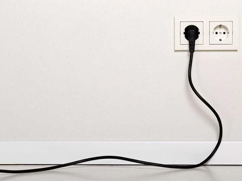 Ahorrar electricidad mientras estás de vacaciones